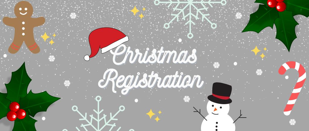 Christmas Registration Slider
